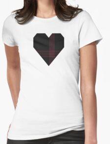 00397 Allt Dubh Tartan  Womens Fitted T-Shirt