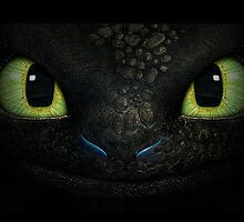 Toothless Eyes by oohmansi