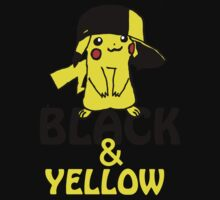 Black and Yellow ( Pika Pika ) by deadpoolRKO