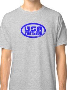 usa portland logo tshirt by rogers bros Classic T-Shirt