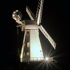 Floodlit Windmill by JEZ22