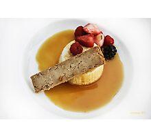 Dessert at The Prado Photographic Print