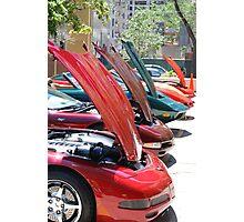 Corvette Event Chicago, IL. I Photographic Print
