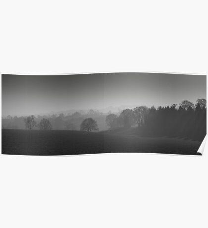 Tranquil Mist  Poster