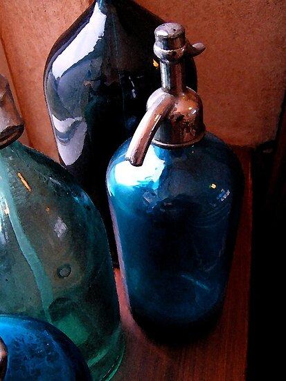 Vintage fizzy water bottles by patjila