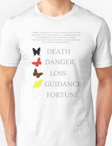 Totem/butterflies meanings - until dawn T-Shirt