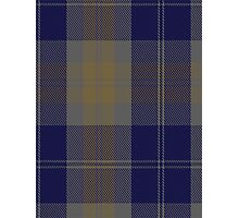 00399 Bannock Brown #2 Tartan  Photographic Print