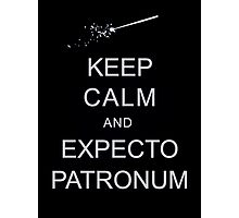 Keep Calm and Expecto Patronum Photographic Print
