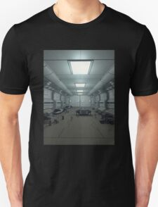 Space Station Hanger Deck T-Shirt