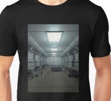Space Station Hanger Deck Unisex T-Shirt
