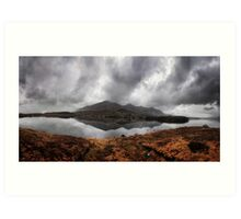 lough inagh I think. But with those funny Irish words it could be anything Art Print