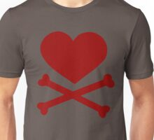 Pirate Love (Red). Unisex T-Shirt