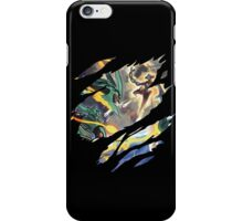 pokemon rayquaze deoxys anime manga shirt iPhone Case/Skin