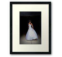 It's the Perfect Dress Framed Print