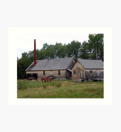 The Sawmill Art Print