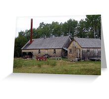 The Sawmill Greeting Card