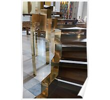 Steps to the Pulpit Coventry Cathedral Poster