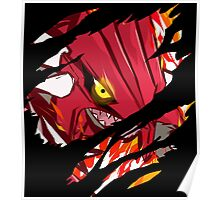 pokemon groudon anime manga shirt Poster