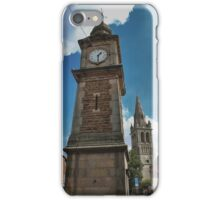 Rugby Clock tower iPhone Case/Skin