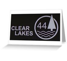 Clear Lakes 44 Greeting Card