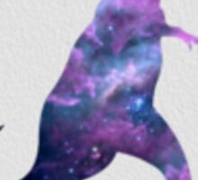 Galaxy trex Sticker