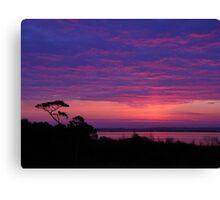 Knotts Island Sunrise #1 Canvas Print