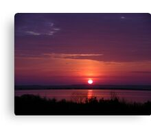 Knotts Island Sunrise #2 Canvas Print