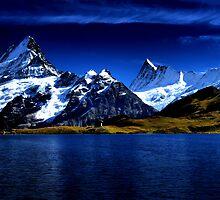 Swiss Alps by Nigel  Dean