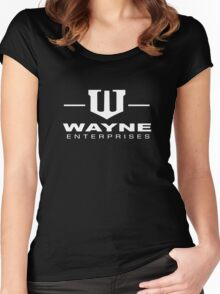 Bruce Wayne Enterprises Gotham Bat Country Women's Fitted Scoop T-Shirt