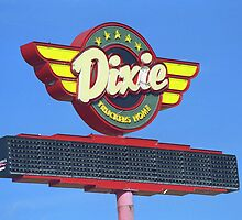 Route 66 - Dixie Truckers Home by Frank Romeo