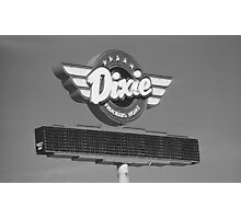 Route 66 - Dixie Truckers Home Photographic Print