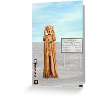 The Scream World Tour South Pole Greeting Card