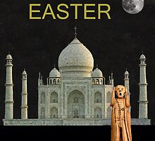The Scream World Tour India Taj Mahal Happy Easter by Eric Kempson