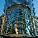 Buildings in downtown Houston, TX USA by Ann Reece