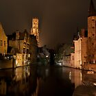 Bruges by Night by Neil Crittenden