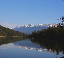 Lake one of Five by Carol Bock