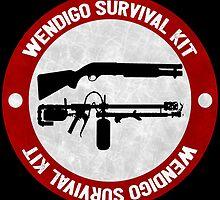 Wendigo Survival Kit - Until Dawn by JuzaShannonNew