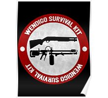 Wendigo Survival Kit - Until Dawn Poster