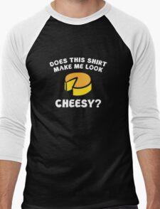 Look Cheesy? Men's Baseball ¾ T-Shirt