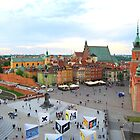 Old Town Warsaw Poland by KevinsView