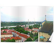 Old Town Warszawa Polska Poster