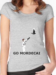 GO MORDECAI  Women's Fitted Scoop T-Shirt