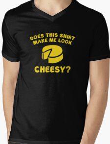 Look Cheesy? Mens V-Neck T-Shirt