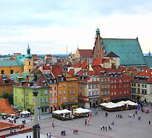 Warszawa - Old Town by KevinsView