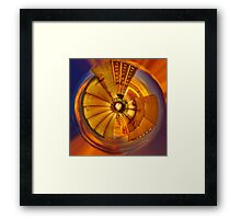 When Distortion Met Firefox Framed Print