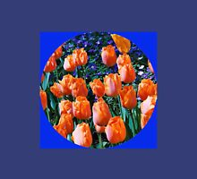 Orange Tulips - Keukenhof Gardens, Holland Womens Fitted T-Shirt