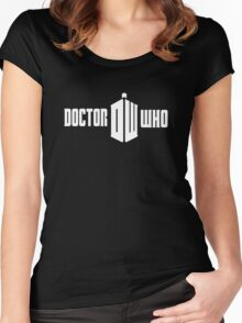 Doctor Who Fandom Women's Fitted Scoop T-Shirt