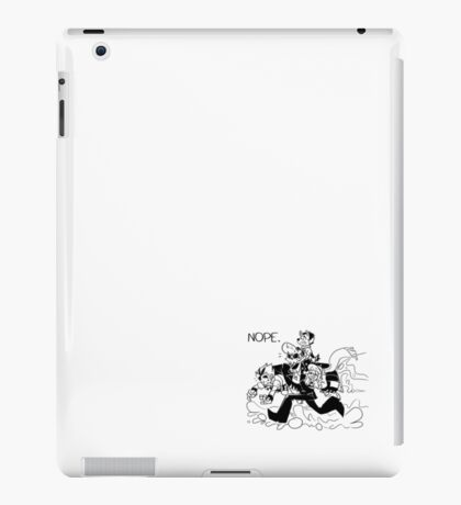 NOPE. iPad Case/Skin