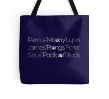 MoonyPadfootProngs Tote Bag
