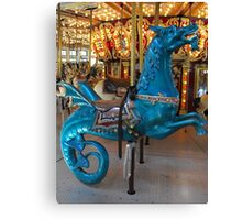Hippocampus carousel ride Canvas Print